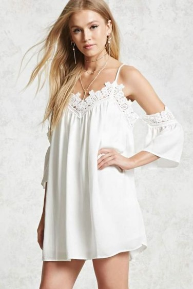 Cozy Open Shoulders Dresses Ideas For Summer37
