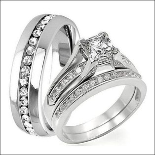 Creative Wedding Ring Sets Ideas For Bride And Groom04