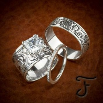 Creative Wedding Ring Sets Ideas For Bride And Groom27