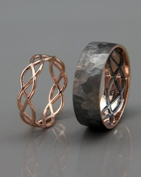 Creative Wedding Ring Sets Ideas For Bride And Groom28