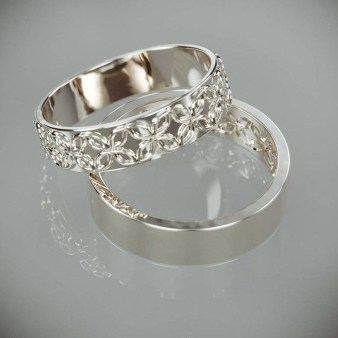 Creative Wedding Ring Sets Ideas For Bride And Groom33