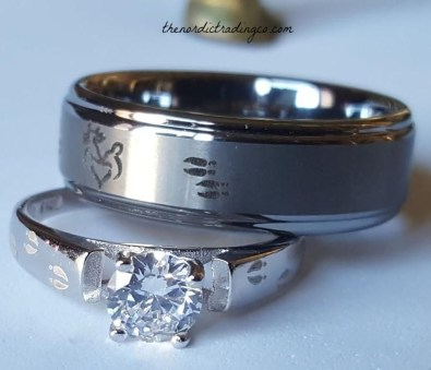 Creative Wedding Ring Sets Ideas For Bride And Groom36