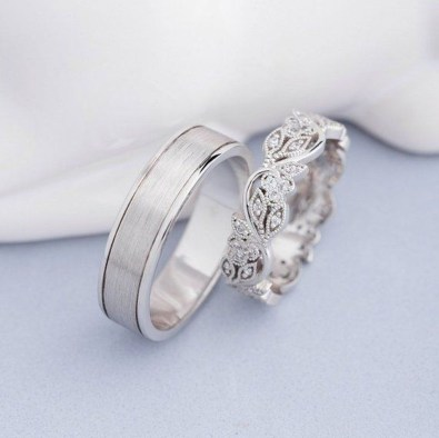 Creative Wedding Ring Sets Ideas For Bride And Groom37