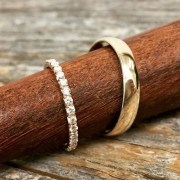 Creative Wedding Ring Sets Ideas For Bride And Groom40