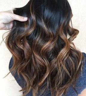 Elegant Dark Brown Hair Color Ideas With Highlights17