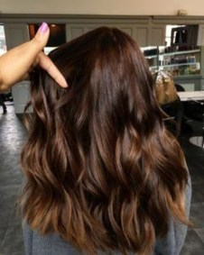 Elegant Dark Brown Hair Color Ideas With Highlights23
