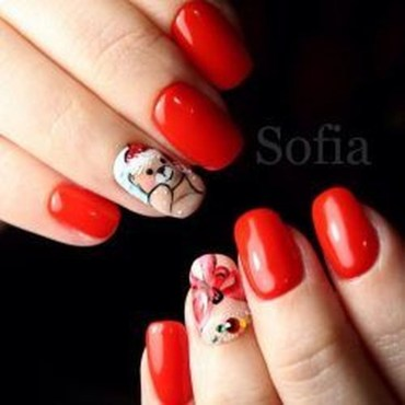 Extraordinary Red Nail Trends Ideas For This Year04