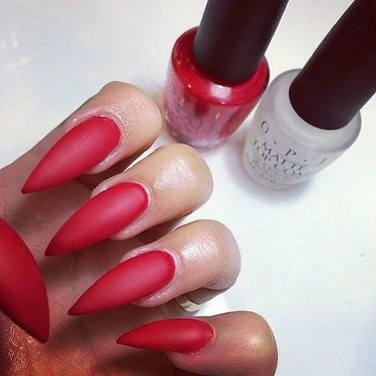 Extraordinary Red Nail Trends Ideas For This Year16