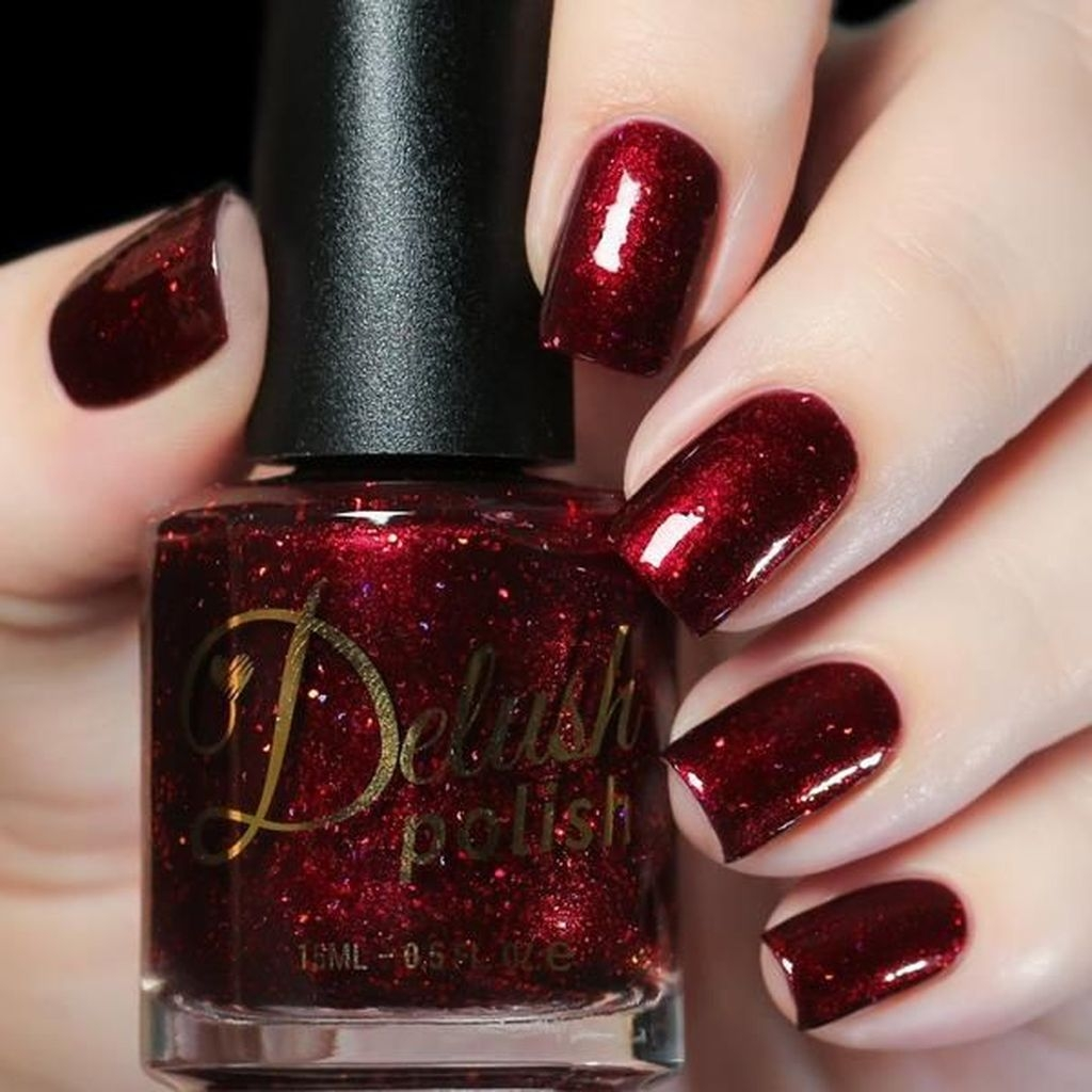 Extraordinary Red Nail Trends Ideas For This Year35
