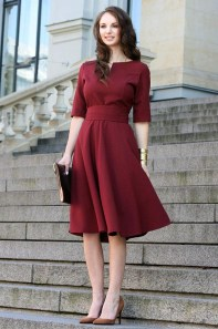 Fascinating Red Dress Ideas10