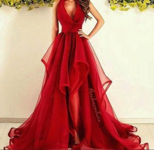 Fascinating Red Dress Ideas12