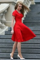 Fascinating Red Dress Ideas30