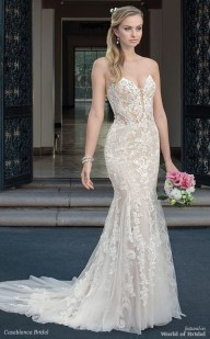 Newest Lace Sweetheart Wedding Dresses Ideas For Spring03