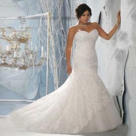 Newest Lace Sweetheart Wedding Dresses Ideas For Spring13