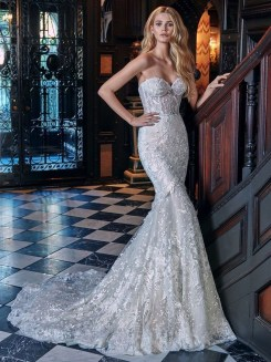 Newest Lace Sweetheart Wedding Dresses Ideas For Spring25