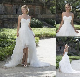 Newest Lace Sweetheart Wedding Dresses Ideas For Spring45