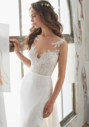 Newest Lace Sweetheart Wedding Dresses Ideas For Spring47