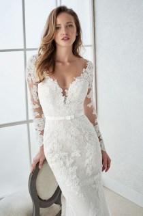 Pretty V Neck Tulle Wedding Dress Ideas For 201903
