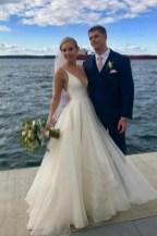 Pretty V Neck Tulle Wedding Dress Ideas For 201904