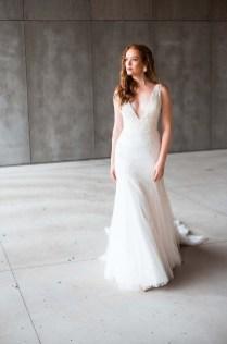 Pretty V Neck Tulle Wedding Dress Ideas For 201906