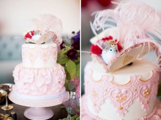 Pretty Wedding Cake Ideas For Old Fashioned22