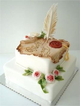 Pretty Wedding Cake Ideas For Old Fashioned27