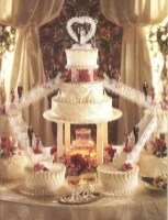 Pretty Wedding Cake Ideas For Old Fashioned36