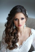 Unique Wedding Hairstyles Ideas For Round Faces30