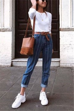 Unordinary Mismatched Outfits Ideas For Women18