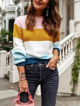 Unordinary Mismatched Outfits Ideas For Women25