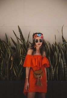Unusual Orange Outfit Ideas For Women02