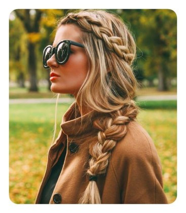 Captivating Boho Hairstyle Ideas For Curly And Straight Hair25
