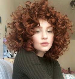 Classy Curly Hairstyles Design Ideas For Teenage In 201901