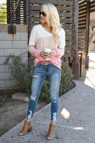 Creative Summer Style Ideas With Ripped Jeans21