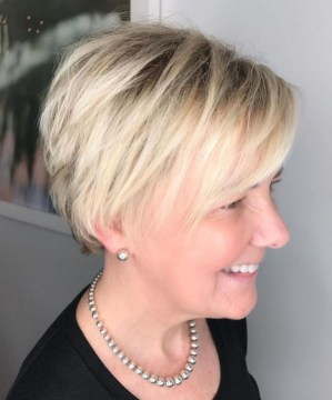 Cute Short Hairstyles Ideas For Women Over 5043