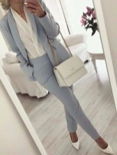 Fashionable Work Outfit Ideas To Try Now36