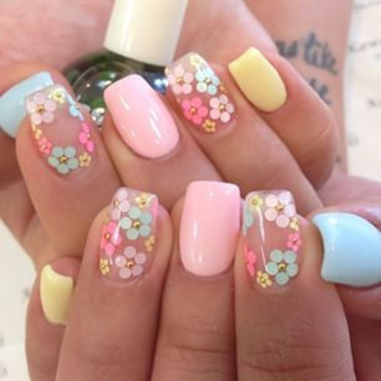 Gorgeous Nail Designs Ideas In Summer For Women01