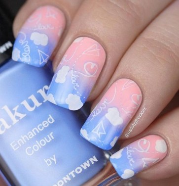 Gorgeous Nail Designs Ideas In Summer For Women42