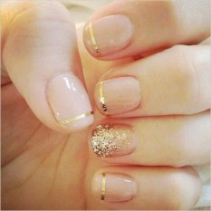 Inspiring Nail Art Ideas For Wedding Party07