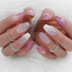 Inspiring Nail Art Ideas For Wedding Party08