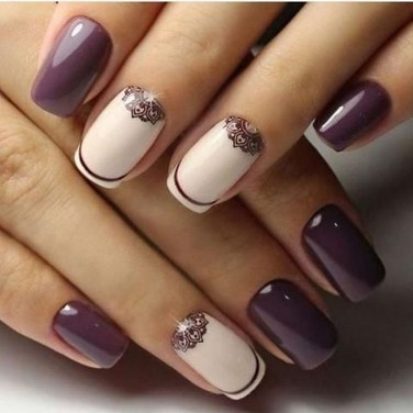 Inspiring Nail Art Ideas For Wedding Party10