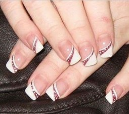 Inspiring Nail Art Ideas For Wedding Party20