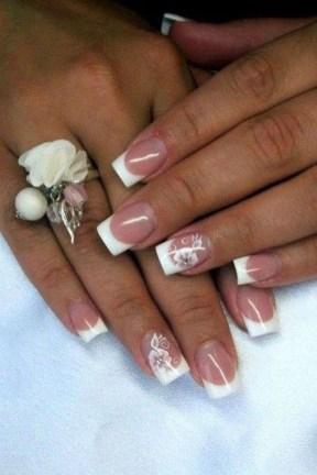 Inspiring Nail Art Ideas For Wedding Party25