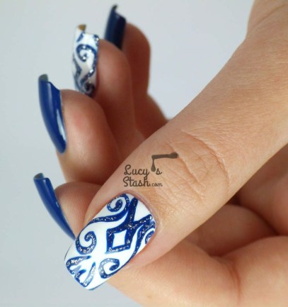 Inspiring Nail Art Ideas For Wedding Party27