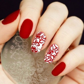 Inspiring Nail Art Ideas For Wedding Party29