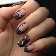 Inspiring Nail Art Ideas For Wedding Party37