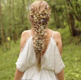 Rustic Hairstyle Ideas For Wedding02