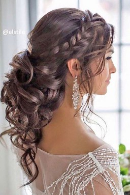 Rustic Hairstyle Ideas For Wedding17