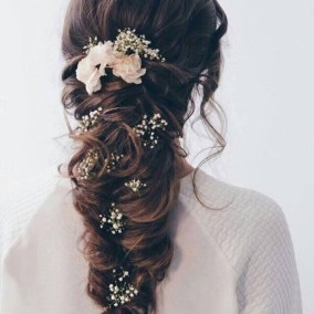 Rustic Hairstyle Ideas For Wedding20