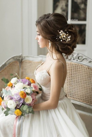 Rustic Hairstyle Ideas For Wedding22